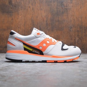 Saucony Men Azura (white / orange / black)