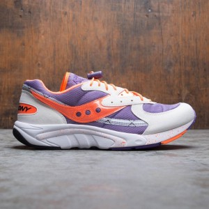 Saucony Men Aya (purple / orange)