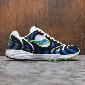 Saucony Men Grid Azura 2000 OG (blue / white / lime)