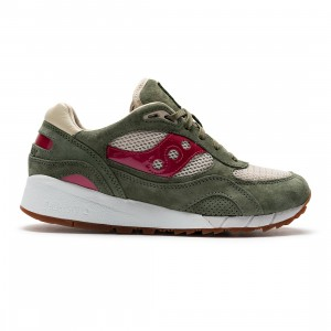 Saucony x Up There Men Shadow 6000 (green / red)
