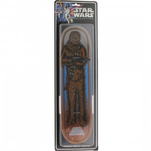 Star Wars x Santa Cruz Skate Chewbacca Collectible 31.7 In x 8.26 In Deck (brown)