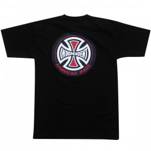 Independent Truck Company AMI Logo Regular Short Sleeve Tee (black)