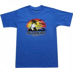 Anti Hero Sunset Tee (royal)