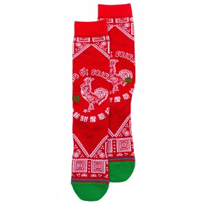 Stance x Sriracha Men Sriracha Socks (red)