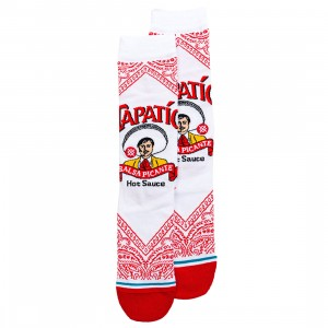 Stance x Tapatio Men Tapatio Socks (white)
