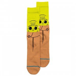 Stance x Star Wars Men The Child Socks (green)