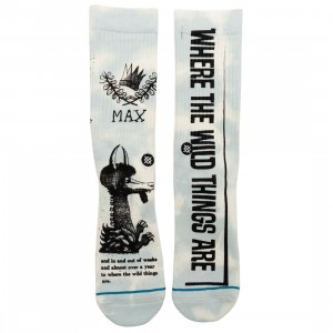 Stance x Where The Wild Things Are Men Out Of Week Socks (blue)