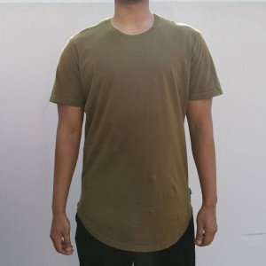BAIT Men Premium Scallop Tee - Made In Los Angeles (olive / military)