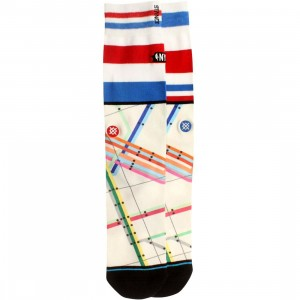 Stance x NBA All Star 2015 Maps Socks (white / multi)