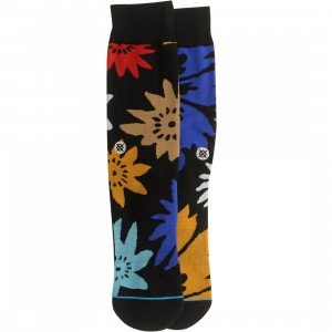 Stance Bloom Socks (black)