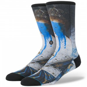 Stance Defaced Anne Socks (blue)