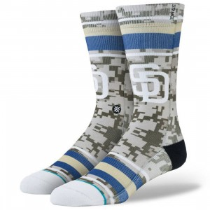 Stance x MLB Men San Diego Padres Socks (blue)