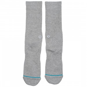 Stance Men Icon Socks (gray / heather)