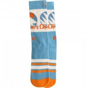 Stance x NBA Clippers Socks (blue)