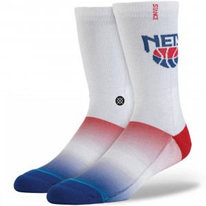 Stance x NBA NJ Nets HWC Socks (white)