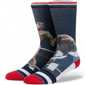 Stance Men Thrilla In Manilla Socks (navy)