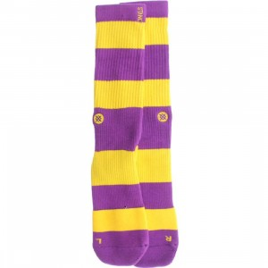 Stance Los Angeles Socks (purple)