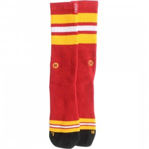 Stance Miami Socks (red)