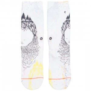 Stance Women Whimsical Socks (white)
