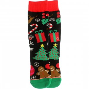 Stance Women Holiday Holwup Socks (black) 1S
