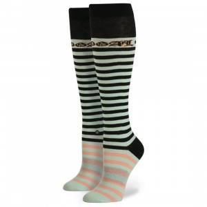 Stance x Rihanna Women Candy Bar Tall Boot Socks (green / mint) 1S