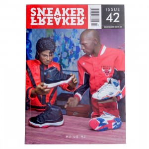 Sneaker Freaker Issue #42 - MJ vs MJ Cover (red / black)