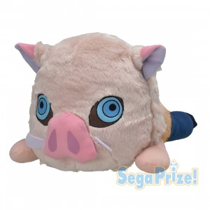 PREORDER - Sega Demon Slayer Kimetsu no Yaiba Hashibira Inosuke MEJ Lay-down Plush (pink)