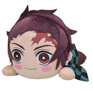 PREORDER - Sega Demon Slayer Kimetsu no Yaiba Kamado Tanjiro MEJ Lay-down Plush (purple)