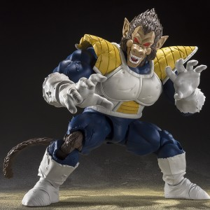 PREORDER - Bandai S.H. Figuarts Dragon Ball Z Great Ape Vegeta Figure (blue)