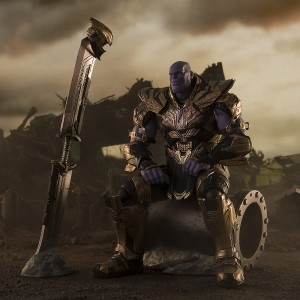 PREORDER - Bandai S.H.Figuarts Avengers Endgame Thanos Final Battle Edition Figure (gold)