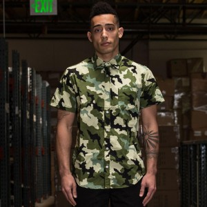BAIT Basics Short Sleeve Shirt (camo)