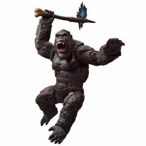 Bandai S.H.Monsterarts Godzilla Vs. Kong 2021 Movie King Kong Figure (black)