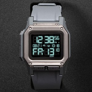 Nixon Regulus Watch (gray / gunmetal)