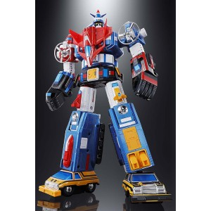 PREORDER - Bandai Soul Of Chogokin GX-88 Vehicle Voltron Armored Fleet Dairugger XV Figure (blue)