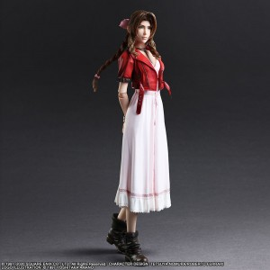 PREORDER - Square Enix Final Fantasy VII Remake Play Arts Kai Aerith Gainsborough Figure (pink)