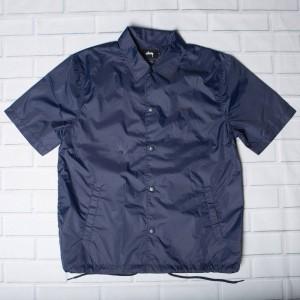 Stussy Men Short Sleeve Coach Jacket (navy)