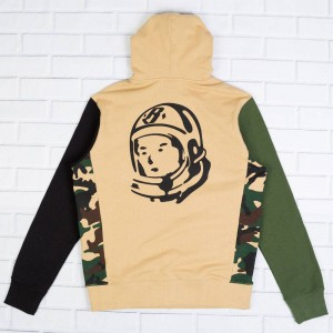 Billionaire Boys Club Men BB Desert Storm Hoody (camo / starfish)