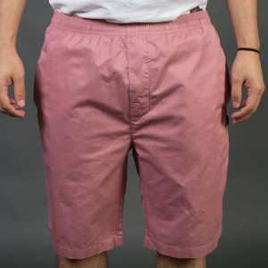 Stussy Men Light Twill Beach Shorts (pink)