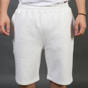Stussy Men Stock Fleece Shorts (white)