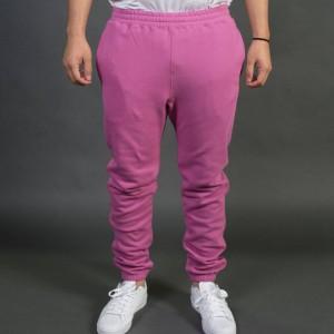 Stussy Men Stock Fleece Pants (pink)