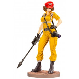 PREORDER - Kotobukiya G.I. Joe Lady Jaye Canary Ann Color Bishoujo Statue (yellow)