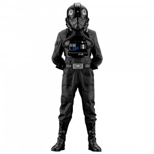 PREORDER - Kotobukiya ARTFX+ Star Wars A New Hope Tie Fighter Pilot Statue (black)