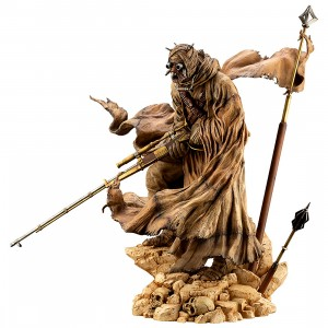 Kotobukiya ARTFX Artist Series Star Wars A New Hope Tusken Raider Barbaric Desert Tribe Statue (tan)