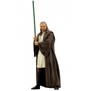 PREORDER - Kotobukiya ARTFX+ Star Wars The Phantom Menace Qui-Gon Jinn Statue (brown)