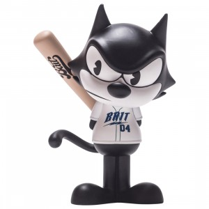 BAIT x Dreamworks x SWITCH Collectibles Felix the Cat Slugger 6 Inch Figure - Seattle Exclusive (black / white)
