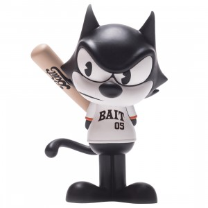 BAIT x Dreamworks x SWITCH Collectibles Felix the Cat Slugger 6 Inch Figure - San Francisco Exclusive (black / white)