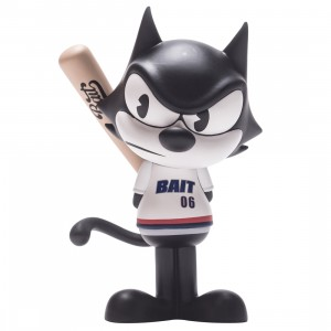 BAIT x Dreamworks x SWITCH Collectibles Felix the Cat Slugger 6 Inch Figure - Portland Exclusive (black / white)
