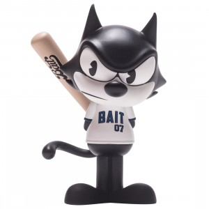 BAIT x Dreamworks x SWITCH Collectibles Felix the Cat Slugger 6 Inch Figure - San Diego Exclusive (black / white)