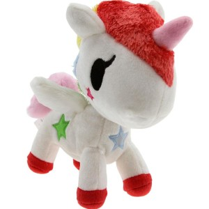 Tokidoki Stellina Unicorno Plush (white / red / yellow)