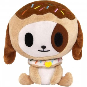 Tokidoki Donutino Plush (brown / white)